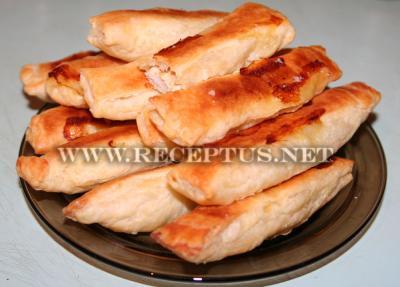 Куриные палочки с сыром в тесте