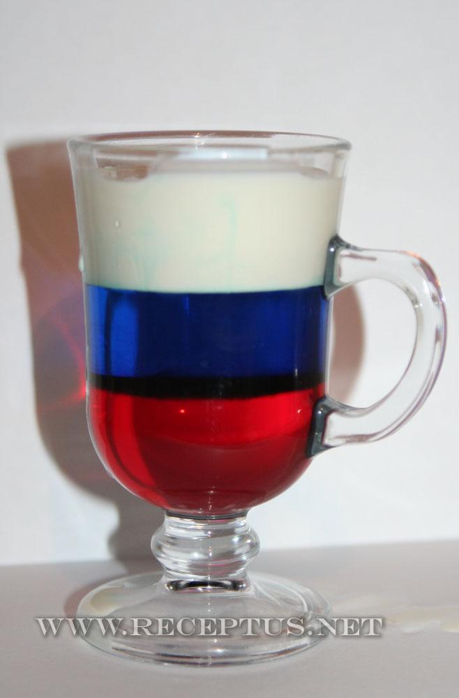Российский флаг либерий