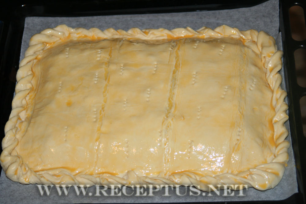 Рыбный пирог в мультиваркеы с фото