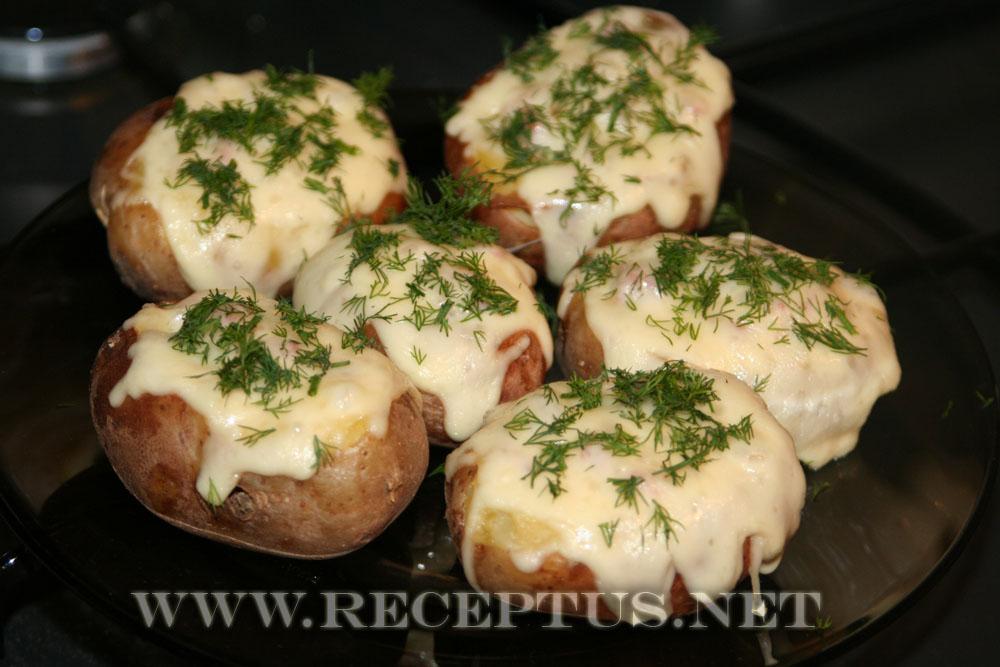 рецепты блюд из картофеля с мясом в духовке с фото