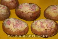 Картошка фаршированная