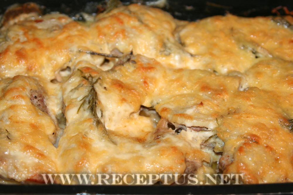 мясо говядина с картошкой в духовке рецепт с фото