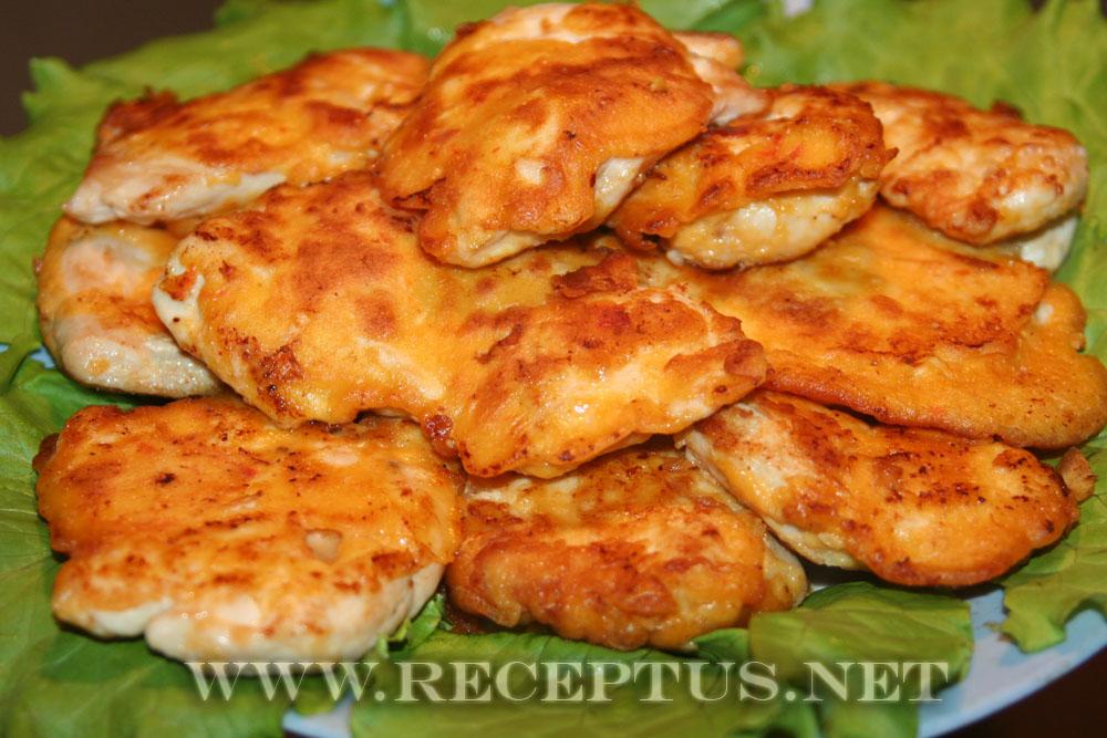 блюда с фото из куриного филе