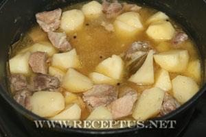 Соус картофельный с мясом