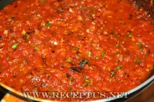 Красный соус к пасте